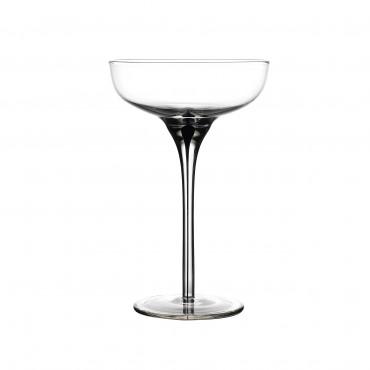 Murano handmade Champagne Coupe 6.5oz