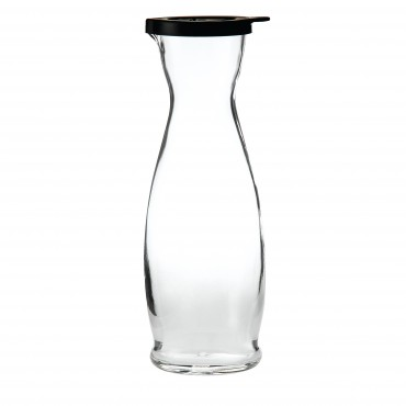 Indro Carafe with Black Cap  1 Litre 35.25oz