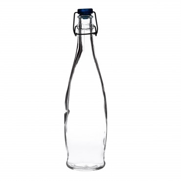 Indro Water Bottle (Blue Cap) 12.5oz