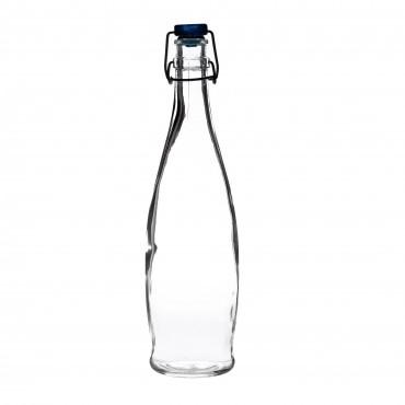 Indro Water Bottle (Blue Cap) 1Litre 35.25oz