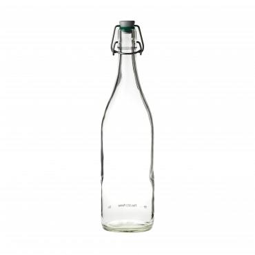 Flip Top Water Bottle (Green Washer) 17.5oz