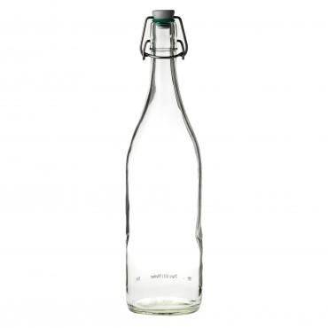 Flip Top Water Bottle (Green Washer) 35oz