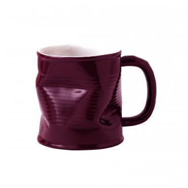 Squashed Tin Can Mug Purple 8oz