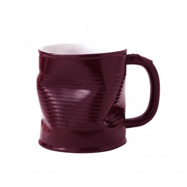 Squashed Tin Can Mug Purple 11oz