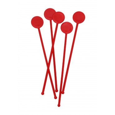 """7"""" Disc Stirrers - Red"""