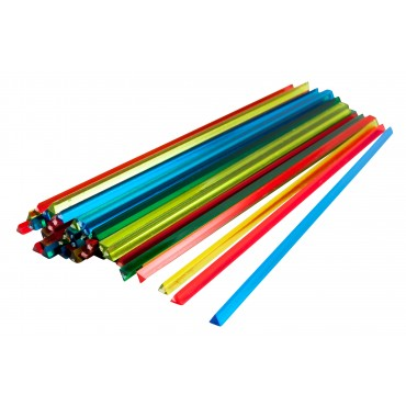 "7"" Assorted Prism Stirrer"