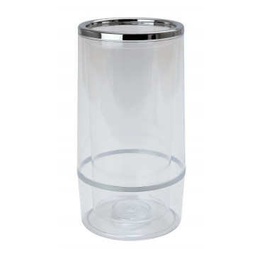 Chrome and Plastic Wine Cooler