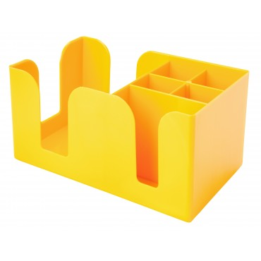 Coloured Bar Caddy - Yellow