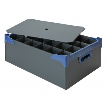 Glassware Storage Box - Holds 24 x 10oz High Ball or 10oz Nonic