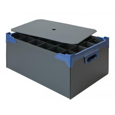 Glassware Storage Box - Holds 24 x 12oz Nonic or 12oz Slim Jim or Wine Glass