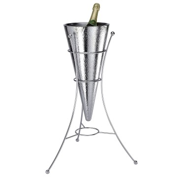 Duo Wall Conical Wine Cooler & Tripod Stand