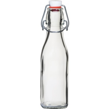 Swing Bottle 0.25 Litre White Top