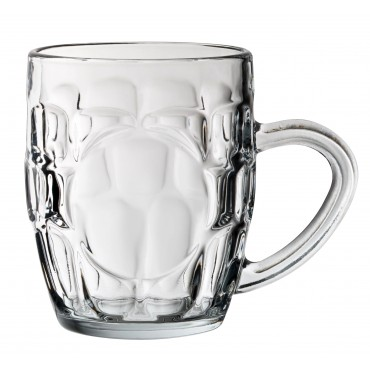 Dimple Tankard Pannelled 10oz