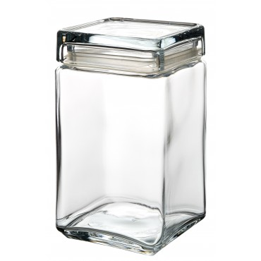 Square Biscotti Jar 1.5L
