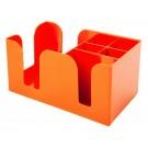 Coloured Bar Caddy - Orange