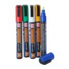 Liquid Chalk Pen 6mm Mixed Colours