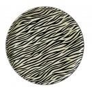 Zebra Round Tray